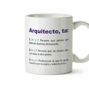 tazas para arquitectos